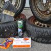 Ремкомплект и герметик для шин - скорая помощь больному колесу