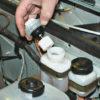 Самостоятельная замена тормозной жидкости на ВАЗ 2114