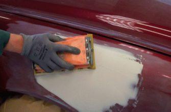 Удаление мелких вмятин — можно ли обойтись без покраски