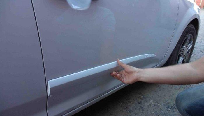 Молдинг на авто: что это? Как клеить своими руками